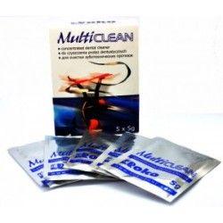 MULTICLEAN Proszek do czyszczenia protez nylonowych, 5 saszetek