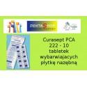 Curasept PCA 222 - 12 tabletek wybarwiajacych płytkę nazębną