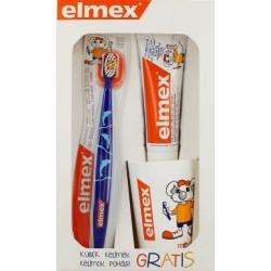 ELMEX - zestaw dla dzieci do mycia zębów