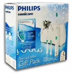 Philips Sonicare Easy Clean HX6511/33 - Szczoteczka soniczna z dodatkowymi końcówkami + kosmetyczka GRATIS!