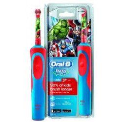 BRAUN ORAL-B Stages Power Marvel Avengers - Szczoteczka elektryczna dla dzieci akumulatorowa