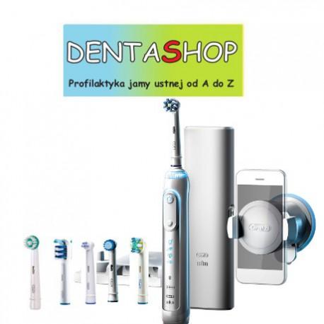 BRAUN Oral-B Genius 8000 White - Nowoczesna szczoteczka elektryczna D701.565.5XC