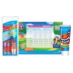 Zestaw Brush Baby Szczoteczka soniczna 6+ oraz pasta do zębów od 6 lat + Kalendarz