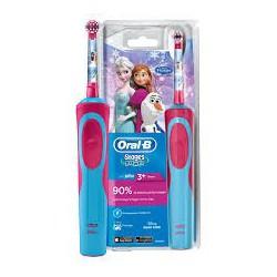 Szczoteczka elektryczna Braun Oral-B D12.513K FROZEN Kraina Lodu dla dziewczynek
