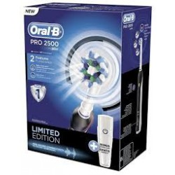 Braun Oral B PRO 2500 Black - Szczoteczka elektryczna z etui D20.513.2MX Limitowana Edycja