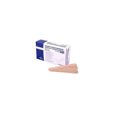Szpatułki laryngologiczne drewniane, niesterylne