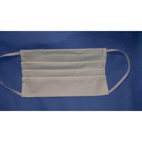 Maseczka ochronna na twarz wielokrotnego użytku wykonana z bawełny, z kieszonką na filtr
