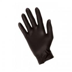 Rękawiczki Medicom nitrylowe M czarne standard 100szt/opak. SafeTouch Advanced Black