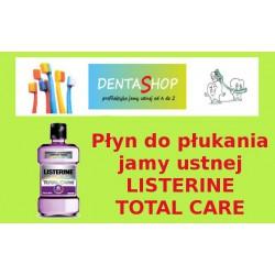 Płyn do płukania jamy ustnej Listerine Total Care ( fioletowa)1000 ml