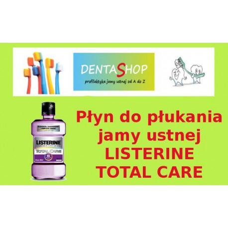 Płyn do płukania jamy ustnej Listrine Total Care ( fioletowa)