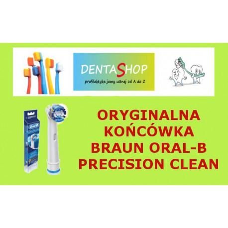 Końcówka do szczoteczek elektrycznych Braun Oral B- PrecisinClean