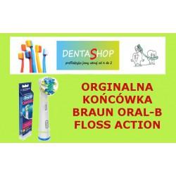 Końcówki do szczoteczek elektrycznych Braun Oral B- Floss Action 2 szt.