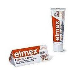 PASTA DO ZĘBÓW ELMEX Kids 50 ml pasta dla dzieci w wieku od 1 do 6 lat