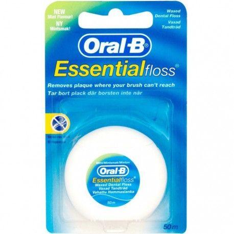 ORAL-B Essential Floss - Woskowana nić dentystyczna, 50 m