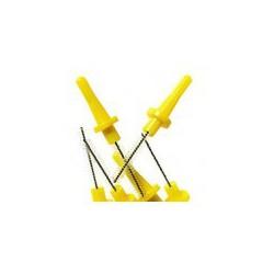 ZAPASOWE SZCZOTECZKI MIĘDZYZĘBOWE DO UCHWYTU 6 SZT. Miradent Pic-Brush X-fine