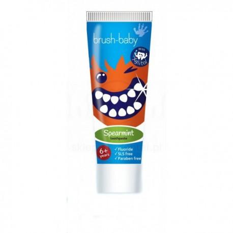 BRUSH-BABY - pasta do zębów dla dzieci w wieku powyżej 6 lat