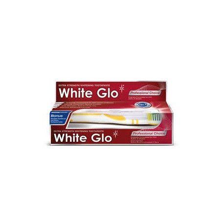 White Glo Professional Choice - Pasta wybielająca dla aktorów i modelek