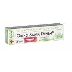 Ortho Salvia Retainer - Pasta dla osób noszących aparat retencyjny lub po leczeniu ortodontycznym 75 ml