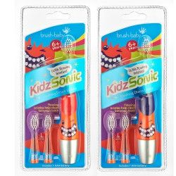 BRUSH-BABY - KIDZSONIC szczoteczka elektryczna, soniczna dla dzieci wieku od 6 lat