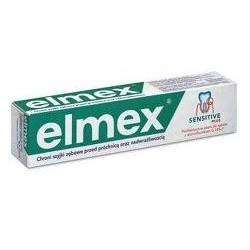 ELMEX SENSITIVE PLUS 75ml (zielona) pasta chroni szyjki zębowe przed próchnicą i nadwrażliwością