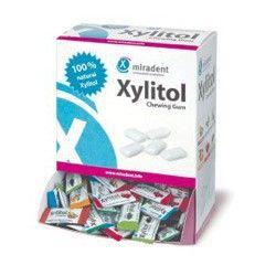 GUMY DO ŻUCIA PRZECIWPRUCHNICY Miradent Chewing Gum XYLITOL 2 szt.
