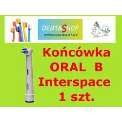 Końcówka ortodontyczna Interspace do szczoteczki Braun Oral- B, 1 szt