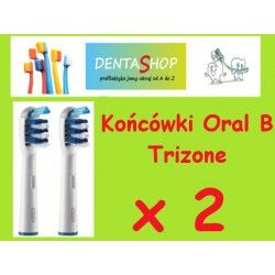 Końcówki do szczoteczek elektrycznych Braun Oral B- TriZone 2 szt.