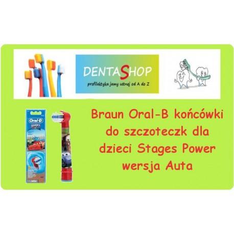 Końcówki Braun do szczoteczki elektrycznej dla dzieci Oral B Kids