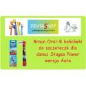 Końcówka Braun do szczoteczki elektrycznej dla dzieci Oral B, 1 szt.Kids